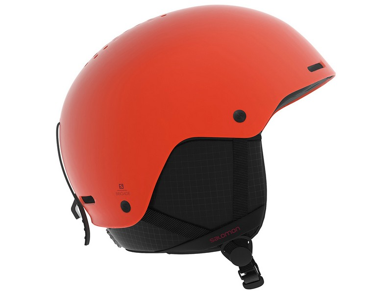 8ceec3e612a Salomon skihelm brigade orange pop - Te Velde salomon skihelm orange