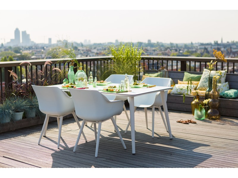 Hartman tuinset sophie studio wit met sophie element tafel for Tuinset wit