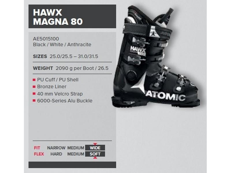 34b0fed0d9a atomic heren skischoen Hawx magna 80 - Te Velde