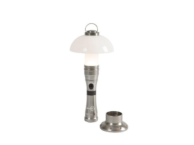 Kampeerlamp? bocamp tafel en zaklamp polaris 3w 3aaa oplaadbaar te