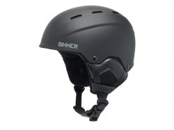 Sinner heren skihelm Typhoon S-Impact matte black