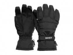 Sinner heren ski-handschoen vertana black
