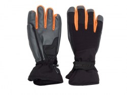 Sinner heren ski-handschoen wolf black-orange