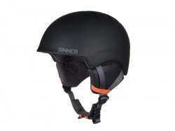 Sinner heren skihelm Lost Trail matte blac