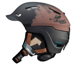 Salomon heren skihelm Prophet Custom air Oval Fit black matt - Glossy