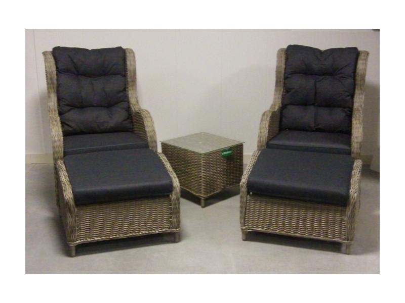 Lounge stoel nodig te velde riverside gasveerverstelbare for Lounge stoel buiten