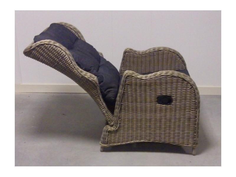 Lounge stoel nodig? Te Velde Riverside Gasveerverstelbare lounge stoel   Te Velde