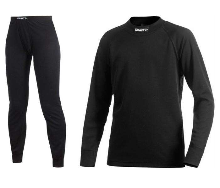 ziet er goed uit schoenen te koop stopcontact verschillende stijlen Craft thermobroek+shirt junior basic 2 pack - Te Velde